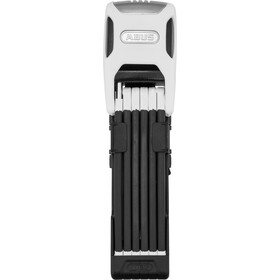 ABUS Bordo Alarm 6000A/90 SH Pyörälukko , valkoinen/musta